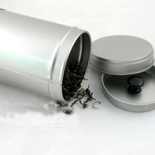 6,4x9 см круглая заварочный чайник серебро олово запечатывание коробки обычный металл коробка для хранения