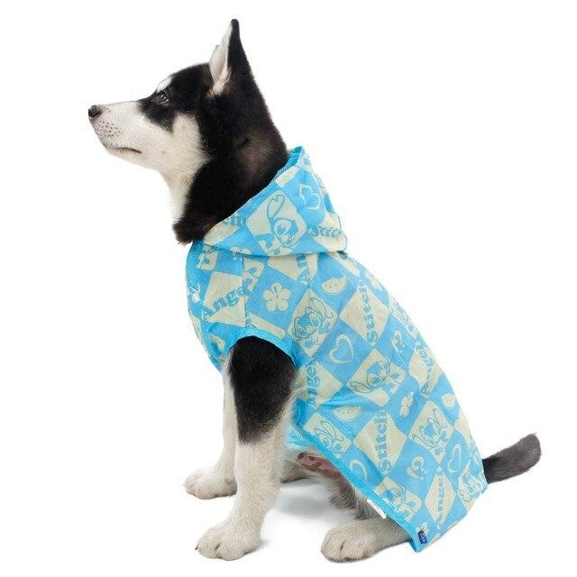 In vendita promozione pet dog impermeabile divertente cartone