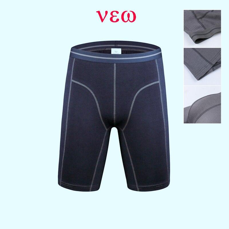 NEW design boxer Shorts underwear men panties boxers men sport long leg boxer men long underwear sport boxers size M-4XL