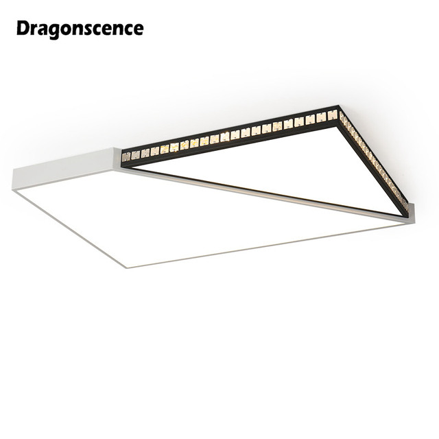 Dragonscence Modern Led ceiling light for living child room bedroom Business occasion round square remote Ceiling lamp fixture