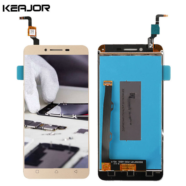 For Lenovo K5 Plus LCD Display Touch Screen AAA Tested Screen Replacement for Lenovo K5 Plus A6020A46 5.0inch Black/Gold/White