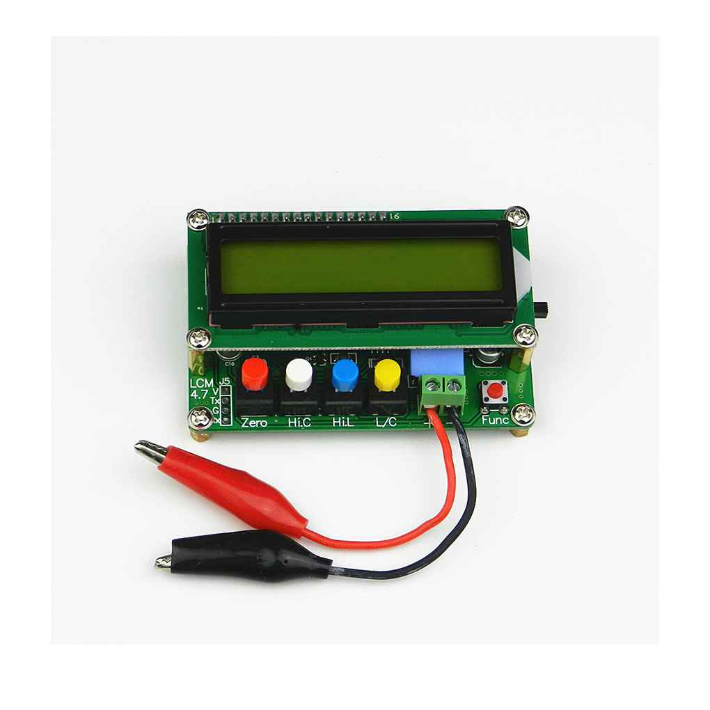 LC100-A Digital LCD High Precision Inductance Capacitance L/C Meter Capacitor Test Mini USB Interface 80*50*30mm lc200a high precision inductance capacitance meter l c meter