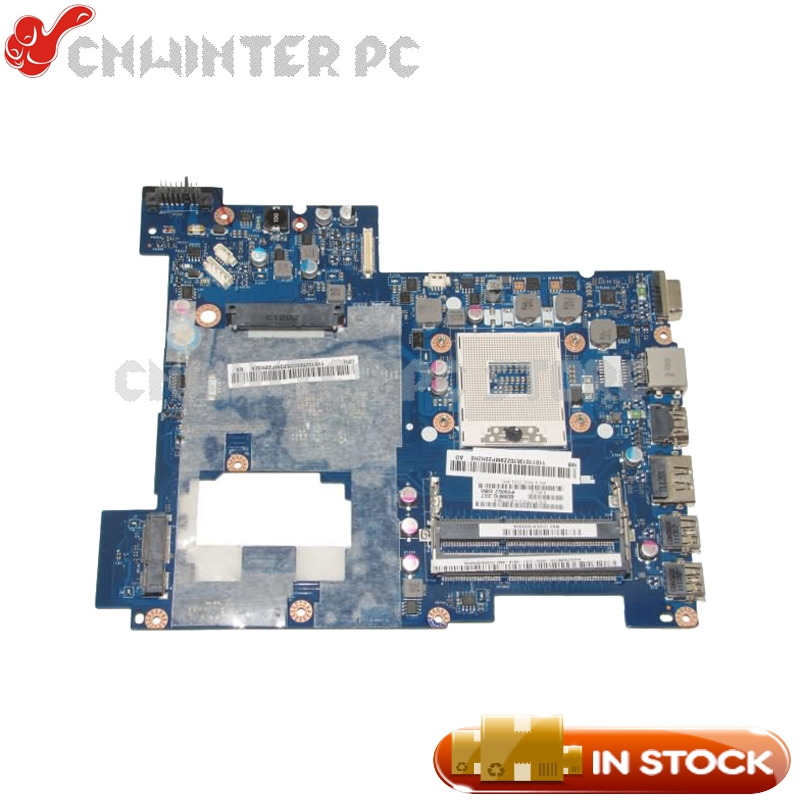 NOKOTION PIWG2 LA-675AP Laptop Motherboard For Lenovo G570 Laptop Motherboard HM65 UMA DDR3 REV: 1.0 DDR3 working perfectly for lenovo g570 notebook motherboard piwg2 la 675ap main board