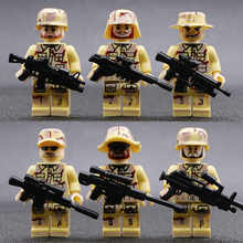 WW2 Military Soldier Building Blocks Soviet Army Figure Weapon Marine Corps Anti-Terorrist Camouflage Special Forces Bricks Toys