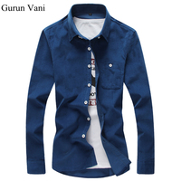 Free Shipping New 2015 Mens Dress Shirts Fine Plaid Classic Casual Slim Fit Brand Long Sleeve