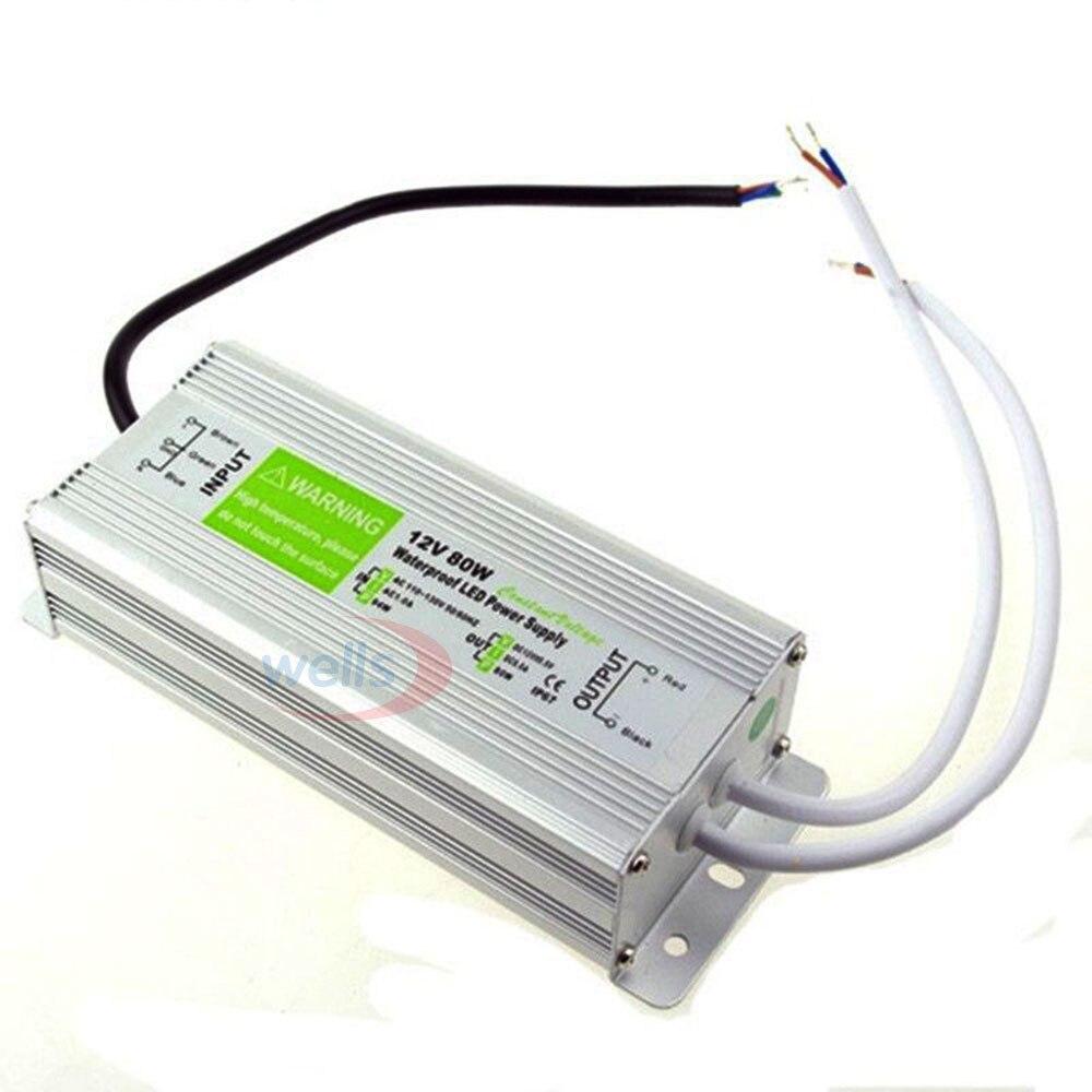 LED драйвер Ac dc 12V / 24V10W 15W 20W 25W 30W 36W 45W 50W 60W - Аксесоари за осветление - Снимка 4