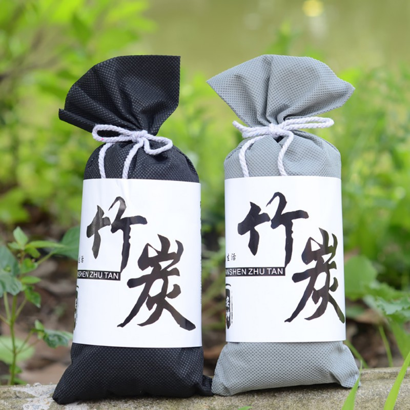 Natural Activated Moso-Bamboo Charcoal Air Purifying Bags Car  Home Kitchen Closet Air Freshener Absorb Moisture