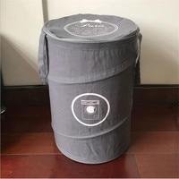 Simple folding laundry basket laundry basket storage bucket multifunctional laundry bag basket B