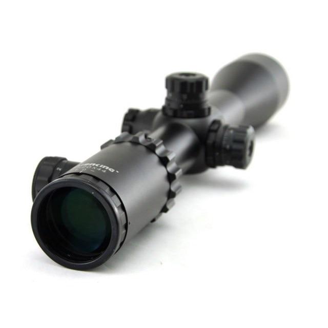 Visionking 2 20x44 탄도 잠금 라이플 스코프 측면 초점 사냥 광학 시력 21mm 장착 링이있는 군사 accurancy 범위
