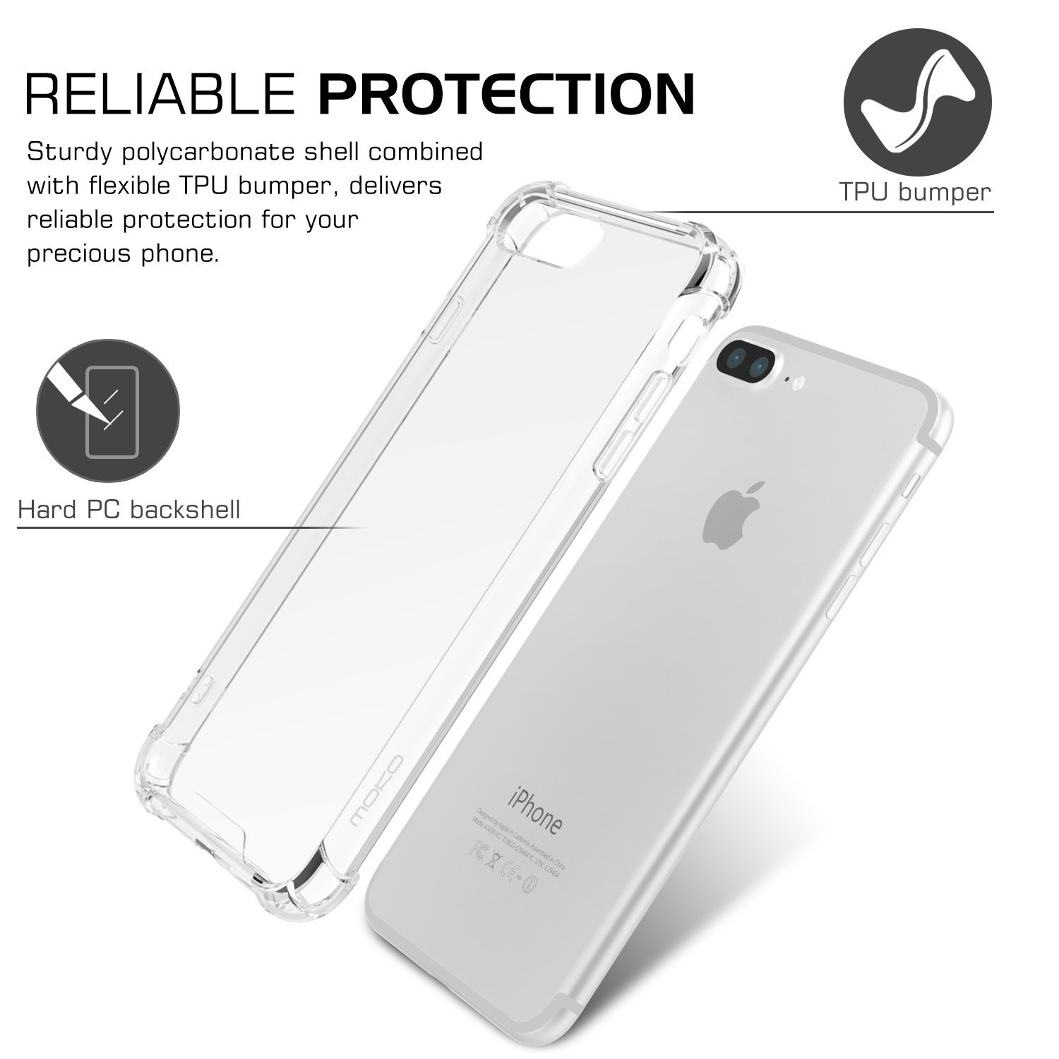 Thin Clear Transparent Case For iPhone X XS MAX XR 6 7 6S 8 Plus 5 se Phone Case For Redmi 4x note4 note5 redmi 5 6 plus 6a f1 in Fitted Cases from Cellphones Telecommunications