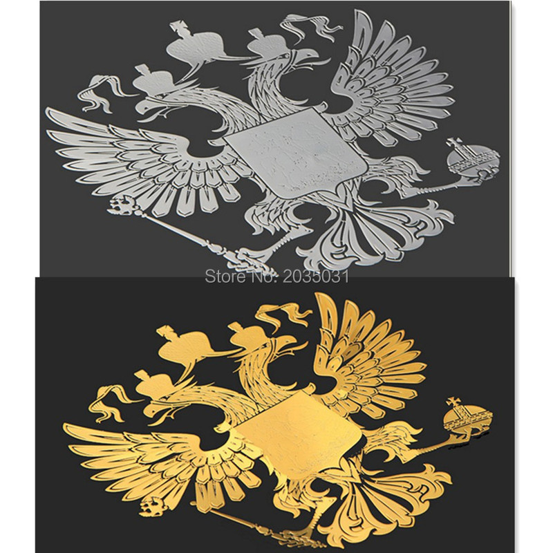 2018 Latest Car styling Russia badge sticker decal for c4 renault clio mitsubishi lancer palio fiat hyundai i30 mini cooper ...