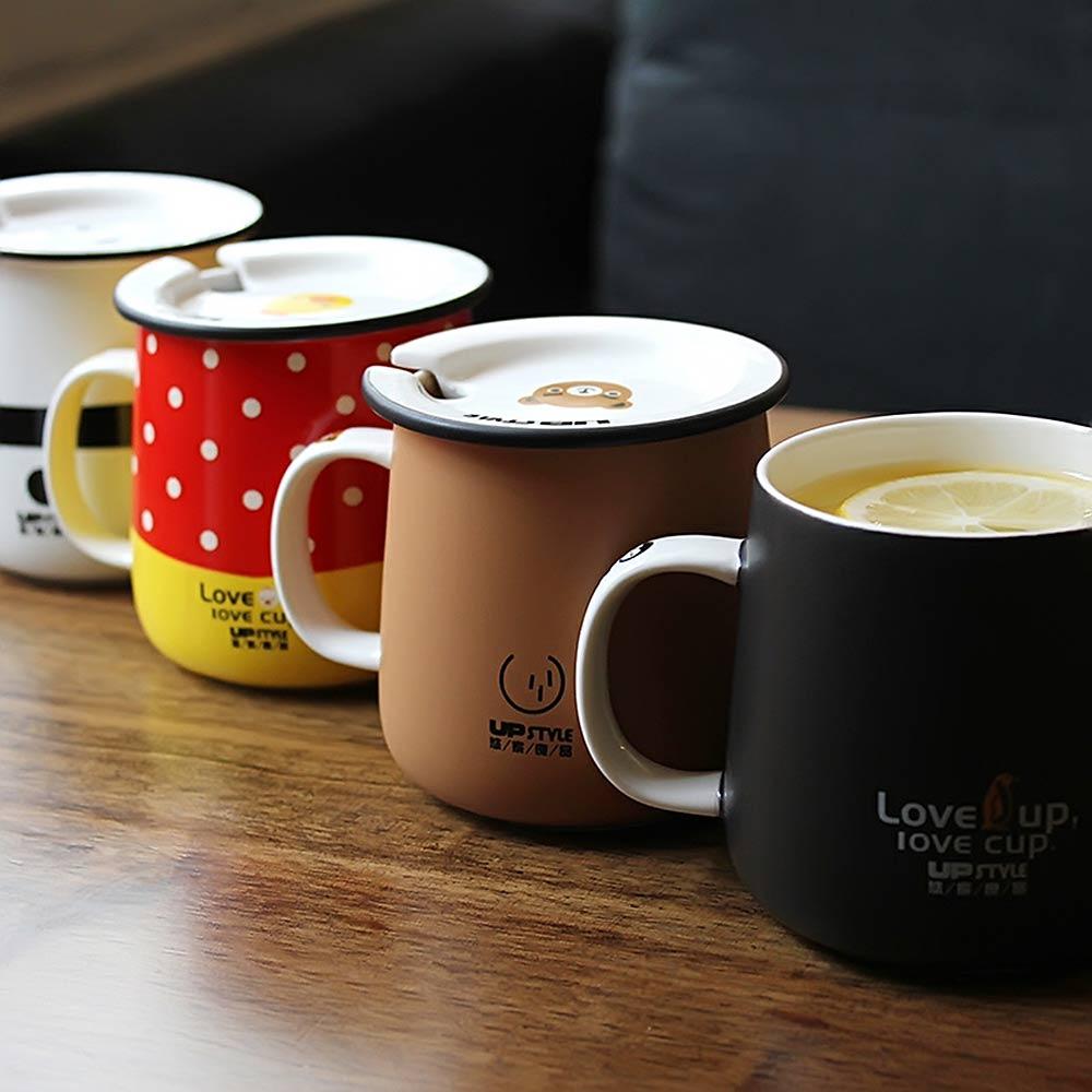Brilliant Lidand Handle Lidand Handle Upstyle Coffee Mug Animal Cartoon Office Ceramic Travel Cup Milk Mugs From Home Milk Mugs From Home On Upstyle Coffee Mug Animal Cartoon Office Ceramic Travel Cup