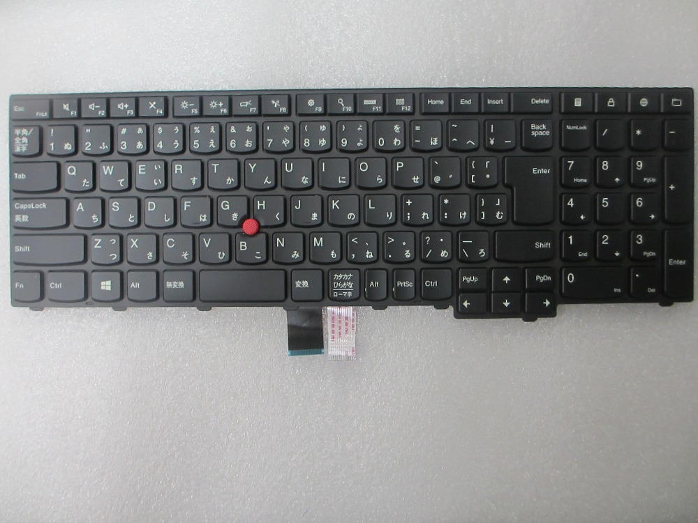 US $25 99 |NEW JP Japanese layout keyboard for Thinkpad Thinkpad E531 L540  E540 W540 T540P 04Y2457-in Replacement Keyboards from Computer & Office on