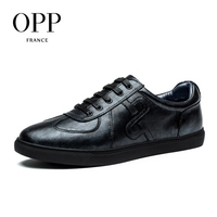 OPP Genuine Leather Men Shoes Casual Shoes For Men Cow Leather moccasins hombre  Fashion Men Loafers for Men Flats 2