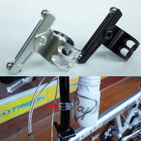 MUQZI Bird Car Fold Bicycle Head Tube Cages Adapter Rear Cages Adapter