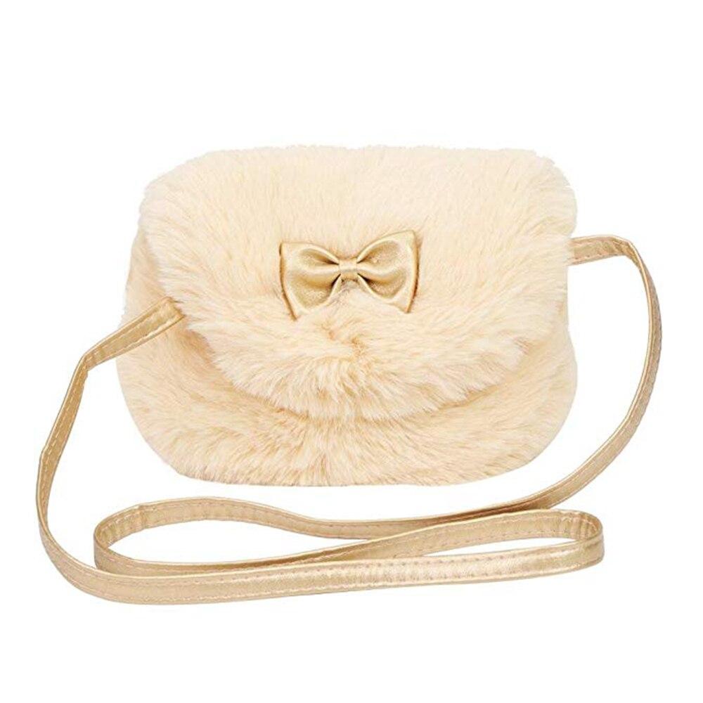 Herzhaft 2018 Nette Kinder Prinzessin Mädchen Kinder Mini Kreuz Körper Tasche Winter Mode Bowknot Künstliche Pelz Schulter Messenger Tasche Geldbörse Gepäck & Taschen