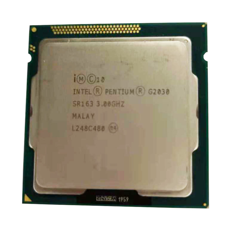 Intel dual core G2030 CPU LGA1155 socket 3.0g H81 B85 motherboard original B75 motherboard Pentium Dual Core g2030 cpu
