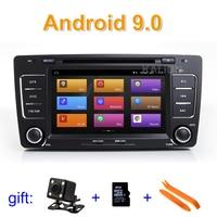 IPS screen Android 9 Car DVD Player Stereo Radio GPS for Skoda Octavia 2009 2012