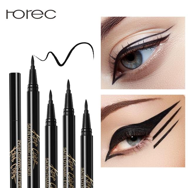 e15171e33d07b ROREC تعزيز الكحل السائل ملصقا بطانة العين هلام العين السوداء قلم رصاص  للماء العرق مقاومة الساحرة