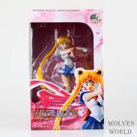 Japonais Anime Sailor Moon PVC Action Figure Kawaii Modèle pour Collection 19 cm Poupée