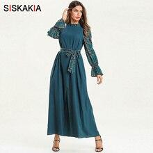 d30e981eea8a9 Grosir long sleeve green muslim dress Gallery - Buy Low Price long ...