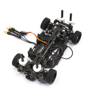 FATJAY MINI Q 1/28 ARR RTR бесщеточная модернизация леопарда LBA1625 мотор Hobbywing EZrun 18A ESC on road углеродного волокна гоночный Радиоуправляемый автомобиль