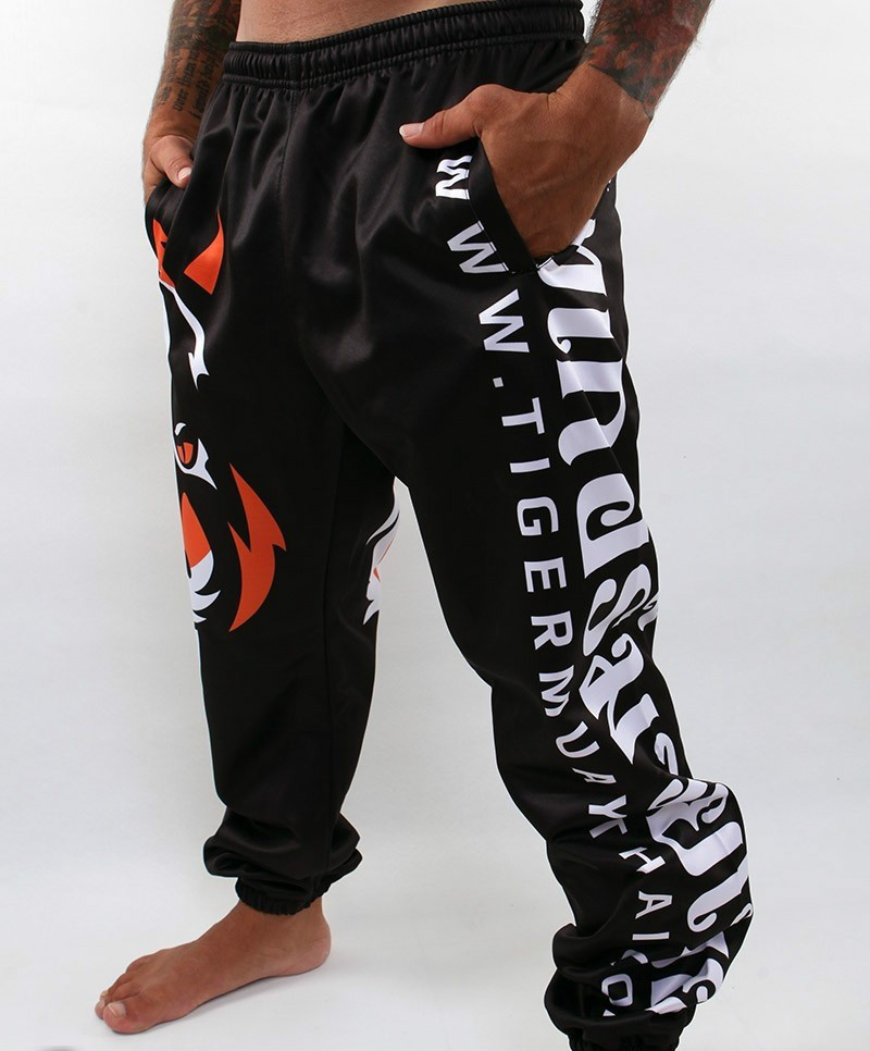 high quality Tigers Printing MMA Fight Pants Muay Thai Boxing Shorts Sweat Quick drying Fight Training Running Shorts-in Trainning & Exercise Pants from Sports & Entertainment    3