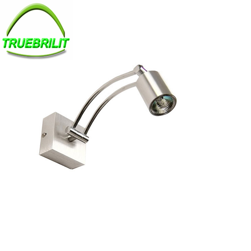 LED  Bedside Lamps Reading Silver spotlights 3W Plumbing Trap Background Mirror Light With LED Wall  home 110V 220V  indoorsLED  Bedside Lamps Reading Silver spotlights 3W Plumbing Trap Background Mirror Light With LED Wall  home 110V 220V  indoors
