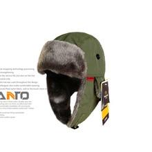 FuLang professional ushanka hiking helmet skiing hats warm keeping HT101