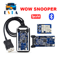 5PCS/Lot DHL free WOVV SN00PER bluetooth 5.008R1 software TCS pro for obd2 cars trucks diagnostic tool working better than tcs