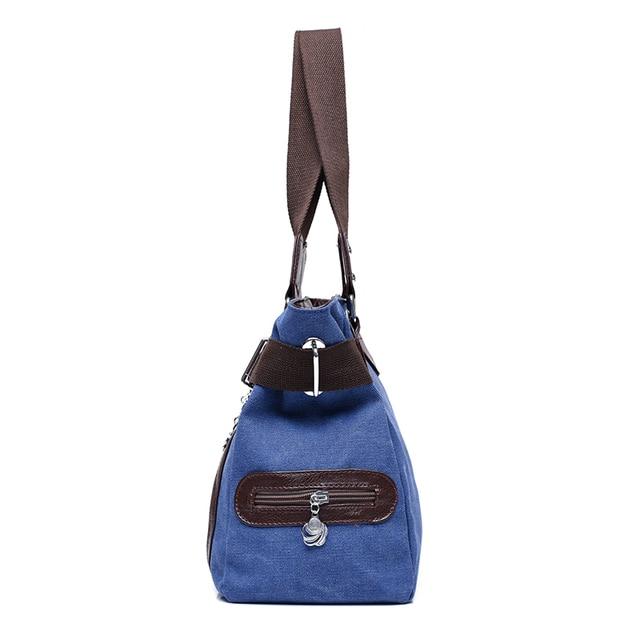 2017 Summer Canvas Bags Chains Women Handbags Fashion Double Zipper Women Shoulder Bags Large Capacity Patchwork LadiesTote Bag