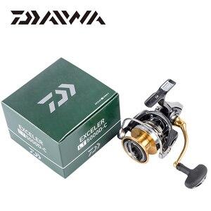 Image 5 - DAIWA EXCELER LT Spinning Angelrollen 2000S XH/2000D XH/2500D XH/3000 CXH/4000D CXH/5000D CXH/6000D H Getriebe verhältnis 5.7:1/6.2:1