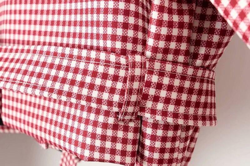 Delle Modo Europei Cappotto Corto Di Donne Cravatta Xd75 1545 Americani Stile E Moda raXErFx