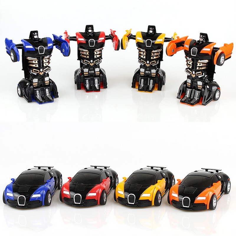 Plastic-Baby-Toy-Cars-Children-Model-Mini-Car-Inertia-Toy-Vehicles-Transformation-Robot-Figure-Autobot-Roll-Anti-Slip-Bugatti-4