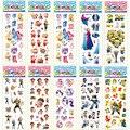 (5 Lote O Más OFF30 %) 3D PVC Etiqueta de Dibujos Animados Juguetes de Regalo para los Niños DIY Gatito Pikachu Secuaces Dora Flores animales 10 hojas/porción