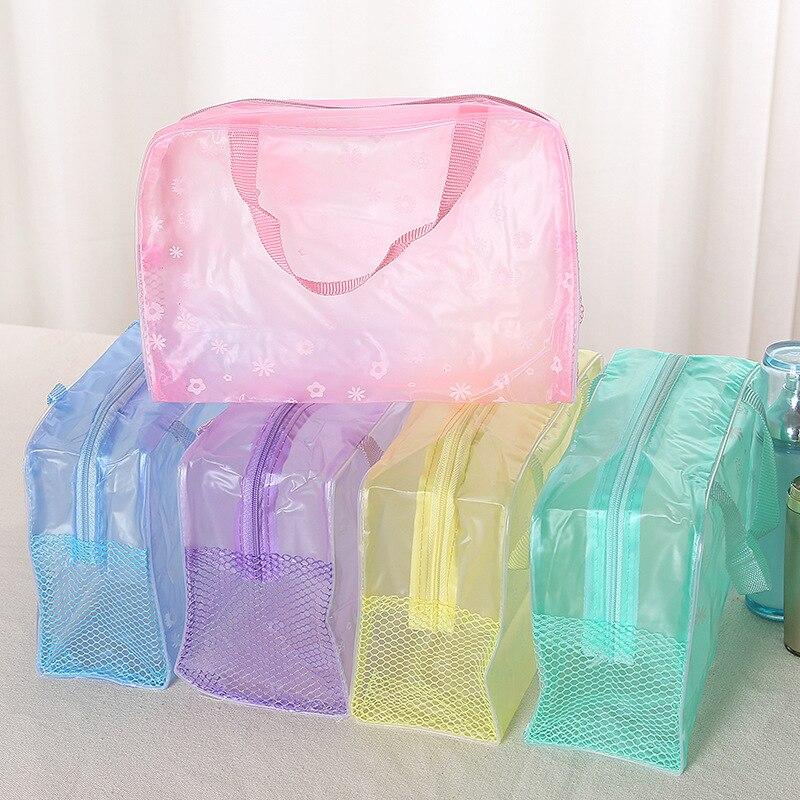 Organizer Bags Storage-Bag Makeup-Tool Shampoo Cosmetics Bathing Travel Waterproof