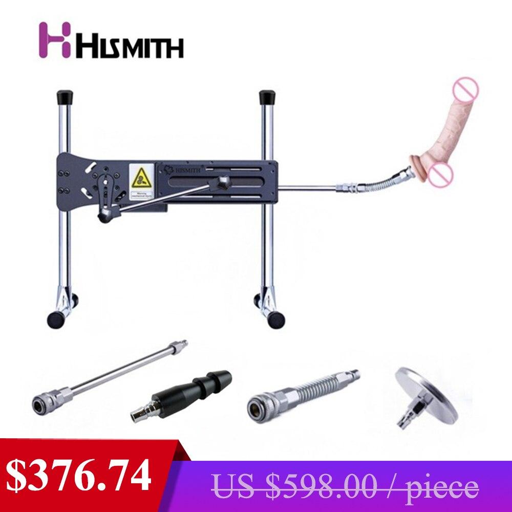 HISMITH чрезвычайно Тихая автоматическая секс-машина Vac-u-Lock Turbo gear power 120 Вт 11 кг цельная стальная рама Love Machines для женщин