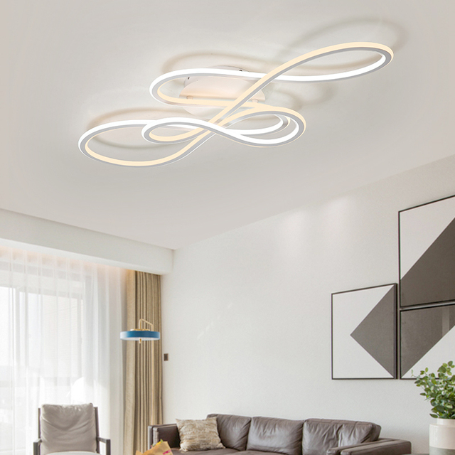 NEO Gleam Double Glow modern led ceiling lights for living room bedroom lamparas de techo dimming ceiling lights lamp fixtures 2