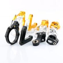 CNC Алюминиевые Регулируемые мотоциклы руля стабилизации демпфер кронштейн комплект для DUCATI 848 2008 2009 2010 рулевой поддержки