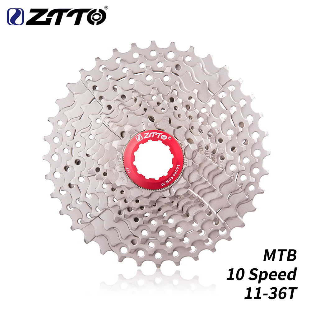 Fine Ztto Ultimate Bicycle Cassette 10 Speed 11-36t Mtb Freewheel For Mtb Gravel Bike Cycling