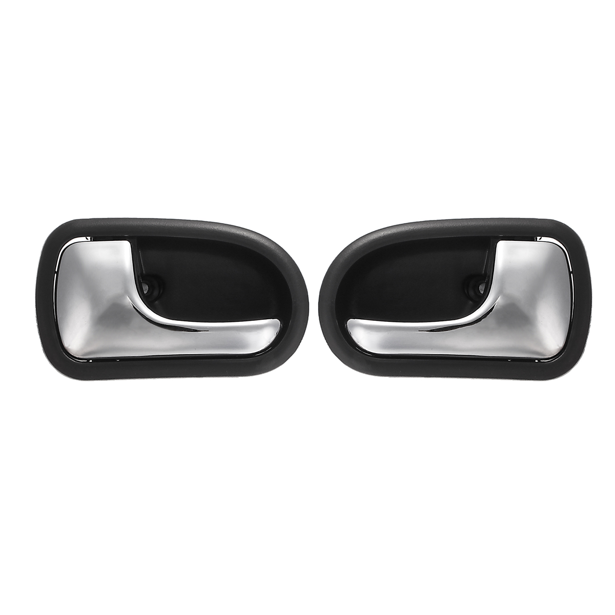 Left Right Front Rear Chrome Interior Door Handle For Mazda 323