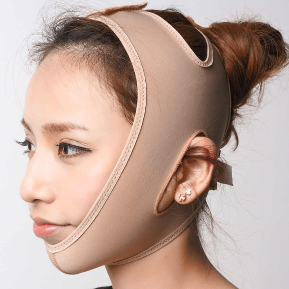 Rimpel Gezicht Chin Cheek Lift Up Afslanken Slim Masker Ultra-dunne Riem Band