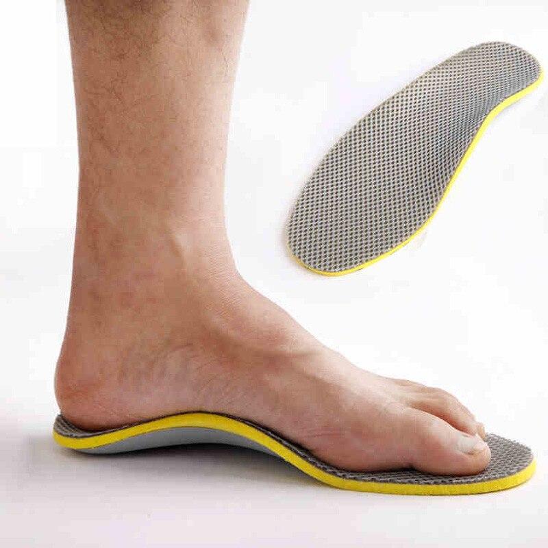 3D Orthopedic Insoles Premium Comfortable Orthotics Flat Foot Insole Insert Arch Support Pad for Plantar Fasciitis Men Women
