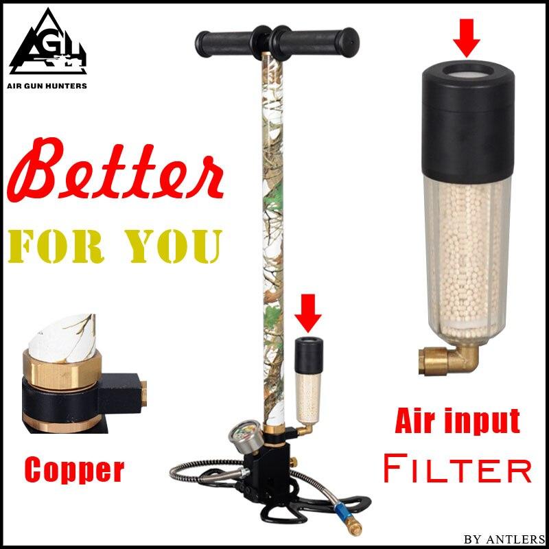 4500PSI PCP Pump Airgun air Rifle High Pressure Pcp Hand Pump with Air filter 40Mpa Gauge