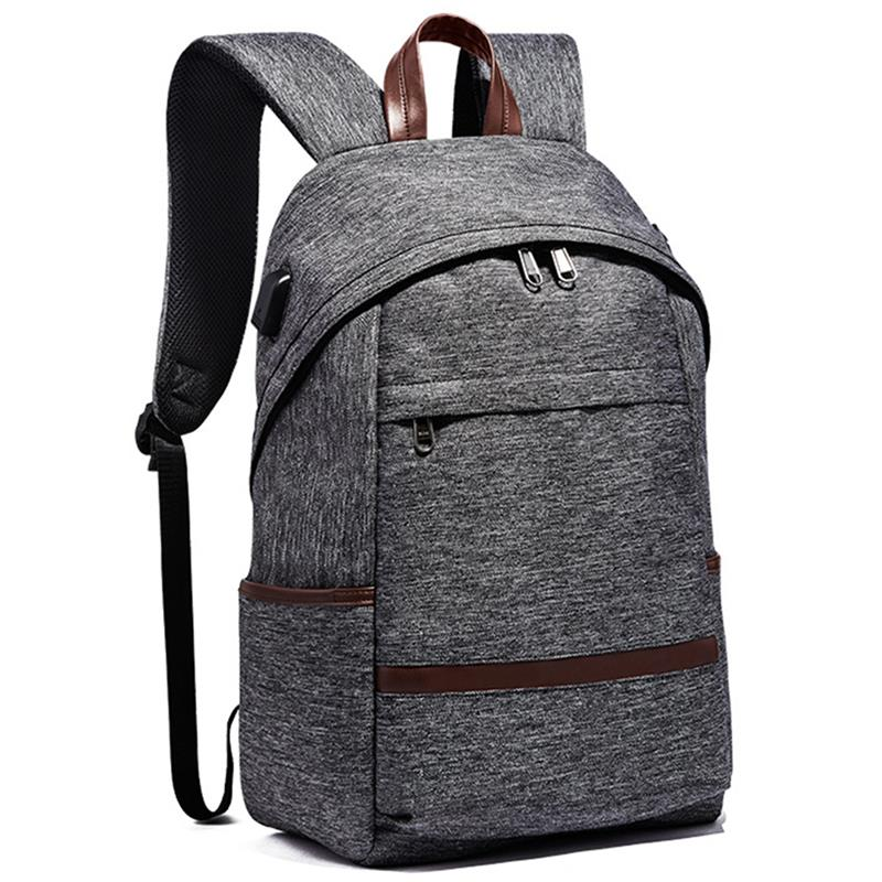 Casual Anti-theft Backpack For Teenagers Boys Men Multifunction Laptop Backpack With USB ...