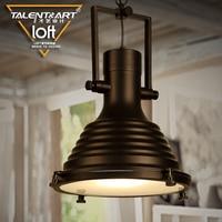 110v 220v Iron Industrial Lamp Pendant Lights Vintage Pendant Lamp Lampadari A Sospensione Lumiere Luces Colgantes