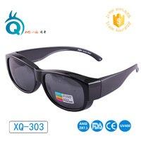 Очки для спорта на открытом воздухе поляризованные линзы охватывает солнцезащитные очки подходят более солнцезащитные очки носить за очка...