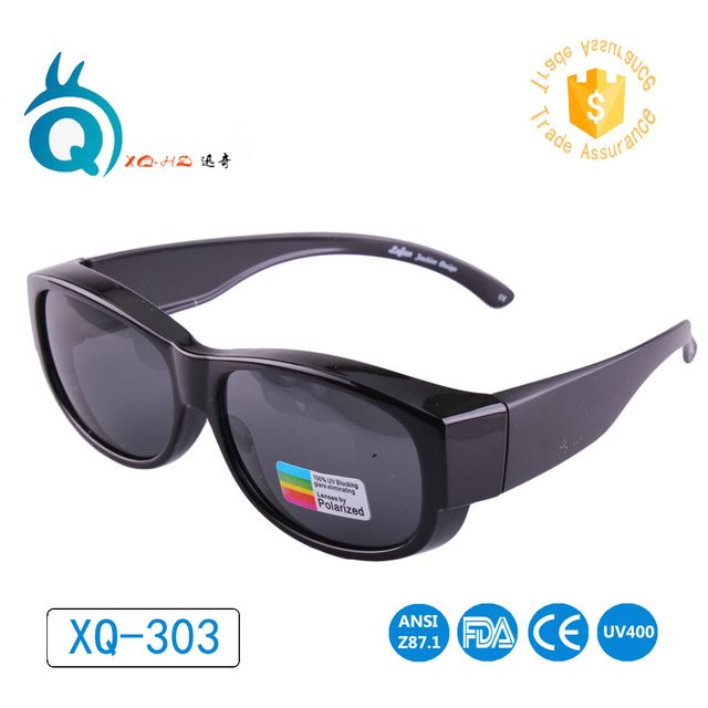 6b7754e597 Glasses For Outdoor Sports Polarized Lens Covers Sunglasses Fit Over Sun glasses  Wear Over Prescription Glasses