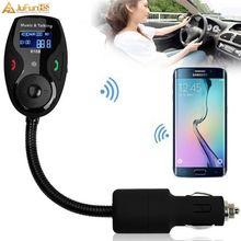 FM передатчик Bluetooth автомобильный комплект беспроводной Hands free MP3 плеер Пульт дистанционного управления 3,5 мм Aux USB зарядное устройство FM модулятор Transmissor