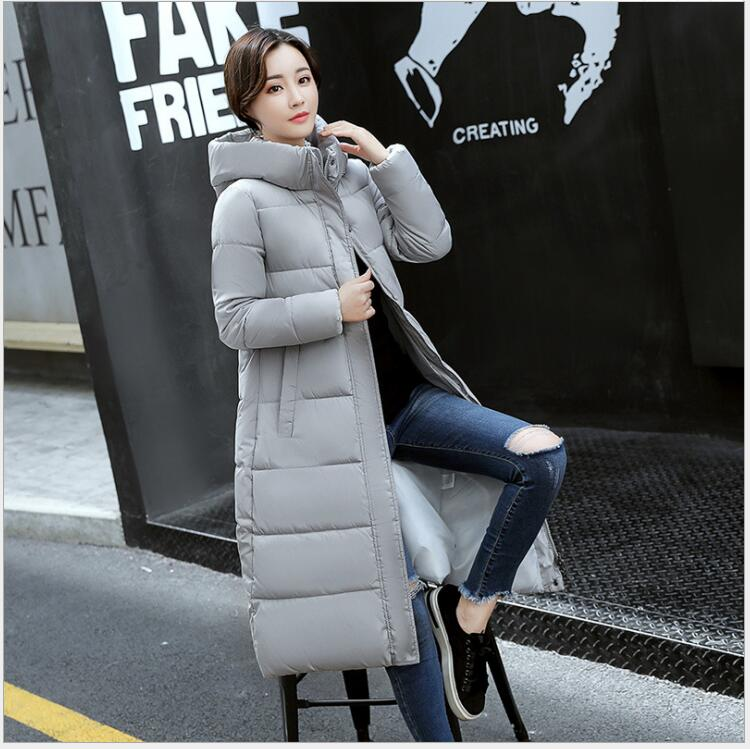 2017 winter new Korean version of the long fashion Slim hooded warm down jacket cotton clothing jacket coat free shipping 2016 autumn and winter explosion models men korean version of slim long warm hooded coat